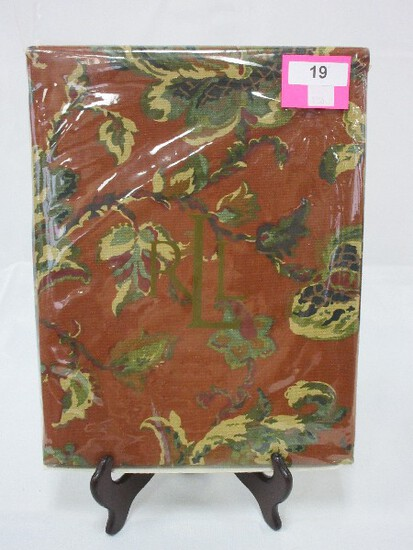 "Ralph Lauren 100% Cotton Hadley Floral Print 60"" x 120"" Rectangle Table Cloth"