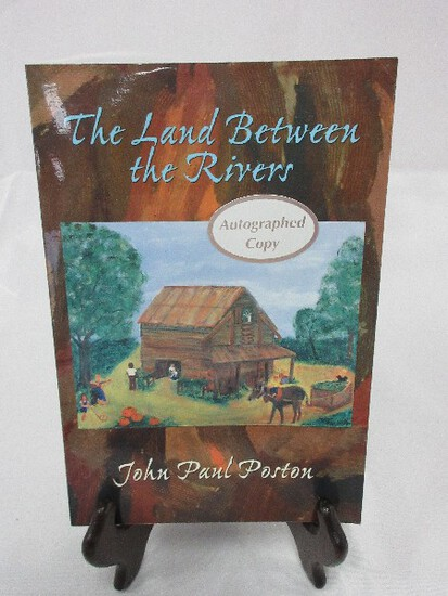 Paperback The Land Between The Rivers Autographed Copy John Paul Poston © 1999