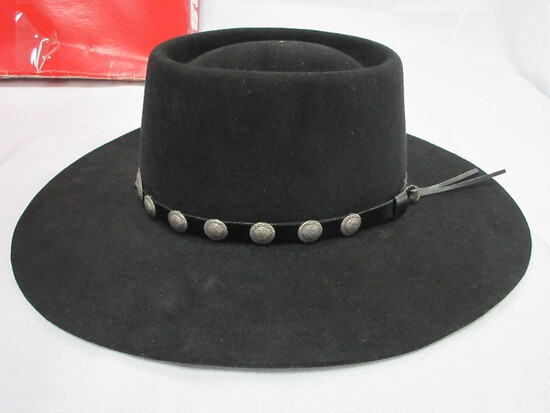 Stetson Western Hat Tanya Fe Style Name 700 Black Color