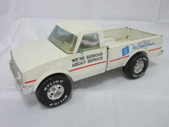 Nylint Corp. Metal Mr. Goodwrench Delivery Pickup Truck