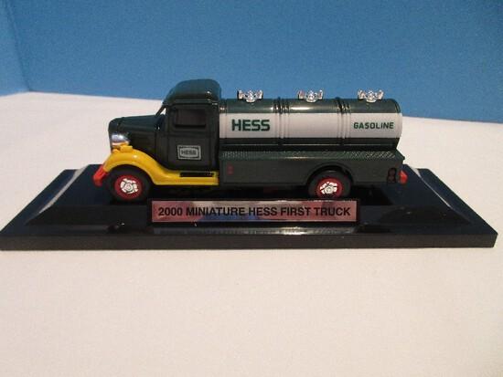2000 Miniature Hess First Truck