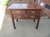 Connecticut River Valley Collection Habersham Planation Corp. Solid Cherry Dressing Table