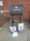 Char-Griller Patio Pro Professional Grills & Smokers Model #1515