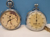Vintage Minerva Swiss Stopwatch & A.R. & J.E. Meylan Type 202 AD Swiss Made Stopwatch