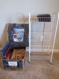 Office Supplies & Other 4-Tier Basket Wire Cart 33