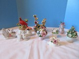 Group - Capodimonte, Radnor Bone China, Golden Crown, Floral Arrangements in Containers