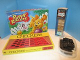 Misc. Games Puppy Racers, Checkers, Jenga, Dominos