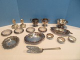 Silverplate Group 3 Towle Master Salt Cellars 1