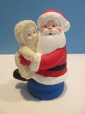 Department 56 Snow Babies Santa Claus is Coming To Town Collection