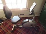 Body Rider Home Trainer Cycling Machine Magnetic Recumbent Bike w/ Manual