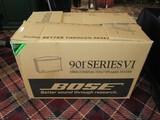 Custom Black Special Edition 901 Series VI Base Direct/Reflecting Speaker System in Box