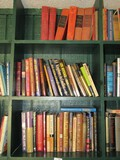 Shelves Lot - Books, Bible Code, Mary Higgins Clark, Jan Karon, Etc.