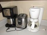 Cuisinart Coffee Percolator, Mr. Coffee Coffee Maker, Black & Decker Toaster