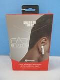 Sharper Image Bluetooth True Wireless Earbuds w/ Charging Case