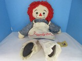 Applause Presents Cloth Raggedy Ann Doll A 70 Year Heritage 1988 Anniversary Collectors Doll