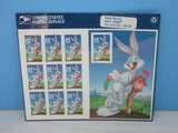 Collectors 10 Mint Bugs Bunny Looney Tunes Cartoons .32 Cent Collectible Booklet
