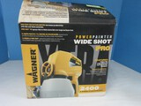 Wagner 2400 PSI 3 Speed Power Painter Wide Shot Pro