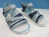 Rya Navy/Gray Breeze Sandals