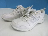 Ryka White Fabric Upper Sneakers Tennis Shoes Lace Up