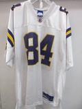 NFL Reebok Equipment Moss #84 Minnesota Vikings Jersey Size L
