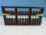 Flying Eagle Abacus Counting Frame Wooden Black Lacquer Finish Frame