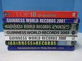 6 Guinness World Records Books 1988 Thur 2003