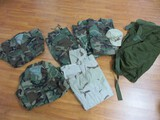 Military Army Uniforms & Cap Desert Camouflage Size 7 5/8