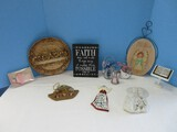 Religious Group 3 Glassical Heirlooms Inc. Stained Glass Figural Angels