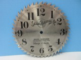Sears Roebuck & Co. Sears/Craftsman the Greatest Name in Tools Shop Clock Saw Blade