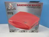Cookinex Sandwich Maker 2 Slice w/ Non-Stick Coating