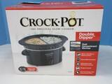 Crock-Pot Original Slow Cooker 16oz. Ideal For Parties Double Dipper