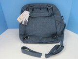 Lug Canter Convertible Tote/Backpack w/ RFID Protection Heather Navy Color