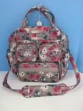 Lug Mini Puddle Jumper Watercolor Pearl Design Convertible Everyday Bag