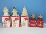 Set - 3 Lenox Fine China Holiday Cheer Collection 3 3/4