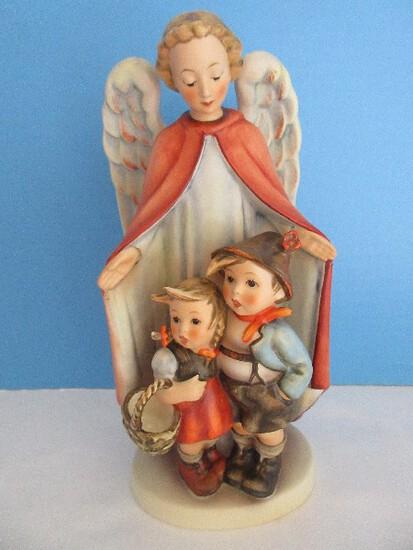 """Vintage Goebel Hummel """"Heavenly Protection"""" 9"""" Figurine Stylized Bee Circa 1960-1972"""