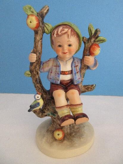 """Vintage Goebel Hummel """"Apple Tree Boy"""" 6"""" Figurine #142/I"""