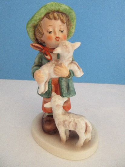 "Vintage Goebel Hummel ""Shepherd's Boy"" 5 1/2"" Figurine Boy w/ Sheep #64"
