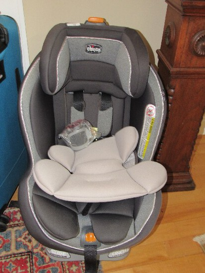 Chicago Black/Grey Baby Chair Recline Sure Levelling System