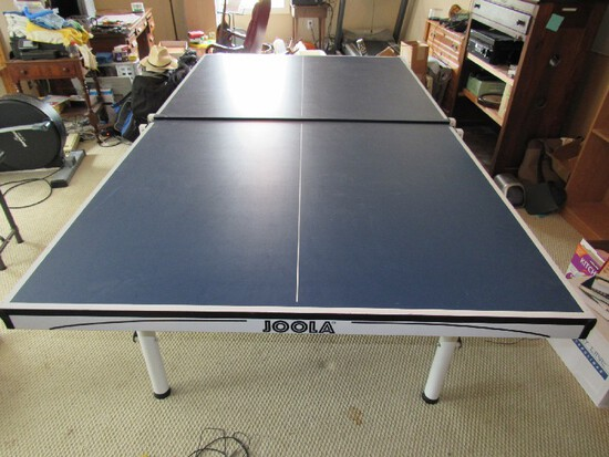 Infinity S-25 Joola Folding Ping-Pong Table