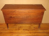 Chic Farmhouse Cottage Pine Mule Chest Style Furniture w/ Hinged Lid