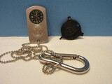 Smith & Wesson Dog Tag Watch in Case New & Colt Pistols/Revolvers Gap Tool