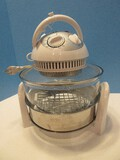 Infrared Halogen Stainless Steel Extender Ring Convection Oven