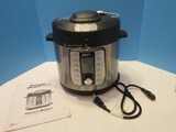 Power Quick Pot Stainless Steel Pressure Cooker w/ Cooking Mode/Cooking Time