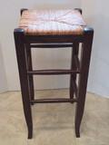 Pottery Barn Bar Stool w/ Rush Seat