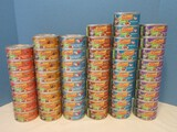51 Cans Friskies Purina Pate Can Cat Food Mixed Flavors 5.5oz. Cans