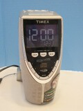Timex Nature Sounds Auto Time Set Preset Tuning CD/Radio Space Saver Design