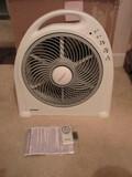 New Holmes Blizzard Oscillating Grill Power Fan w/ Remote Control