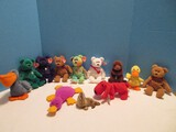 Instant Ty Beanie Baby Plush Toy Collection Fur Walrus Erin, Peace, Princess, Valentino, Etc.