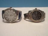 2 Ladies Wrist Watches Citizen Quartz w/ Day/Date, & Timex