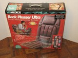 Homedics Back Pleaser Ultra Luxury Massage Seating System w/ Heat Home/Office/Car